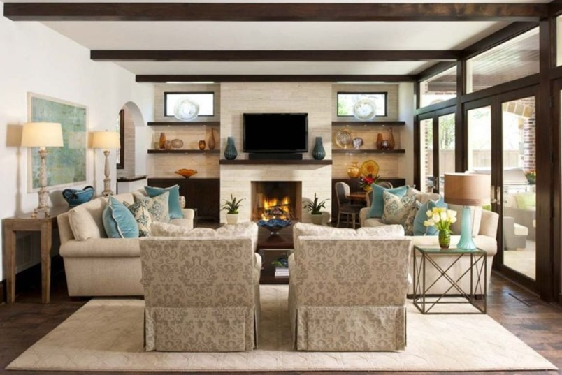 Superb Layout Design Ideas For Family Room 48