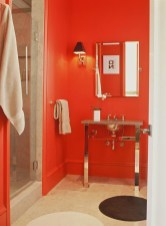 Superb Red Apartment Ideas With Rustic Accents 39