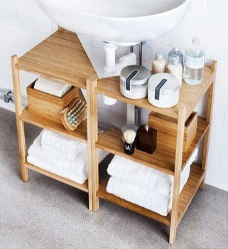 Affordable Diy Bathroom Storage Ideas For Small Spaces 25