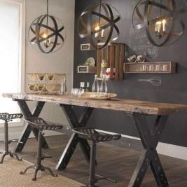 Astonishing Rustic Dining Room Desgin Ideas 02