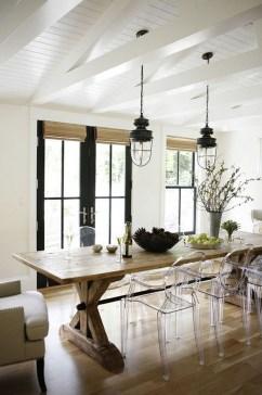 Astonishing Rustic Dining Room Desgin Ideas 11