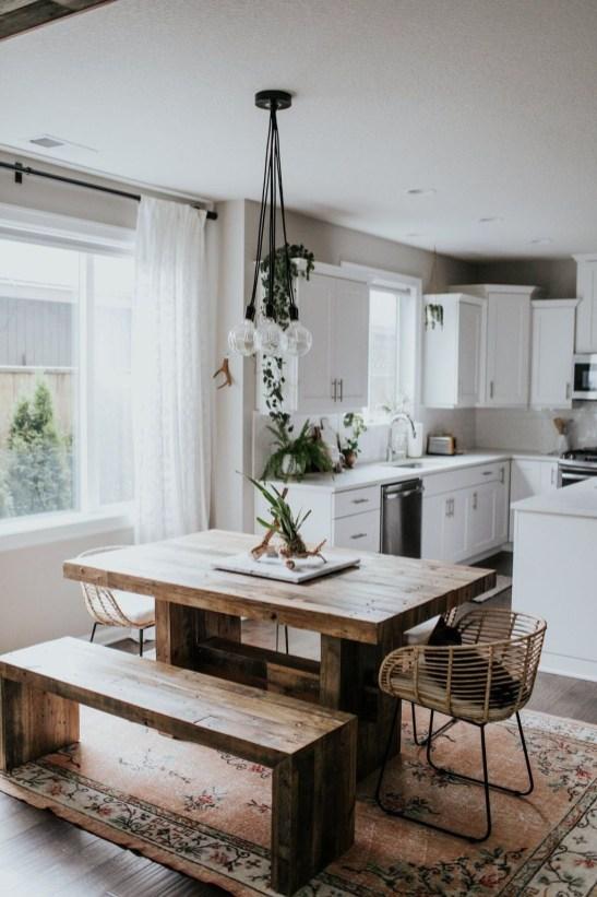Astonishing Rustic Dining Room Desgin Ideas 34
