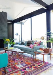 Comfortable And Modern Mid Century Living Room Design Ideas 05