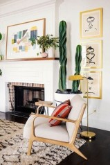Comfortable And Modern Mid Century Living Room Design Ideas 15
