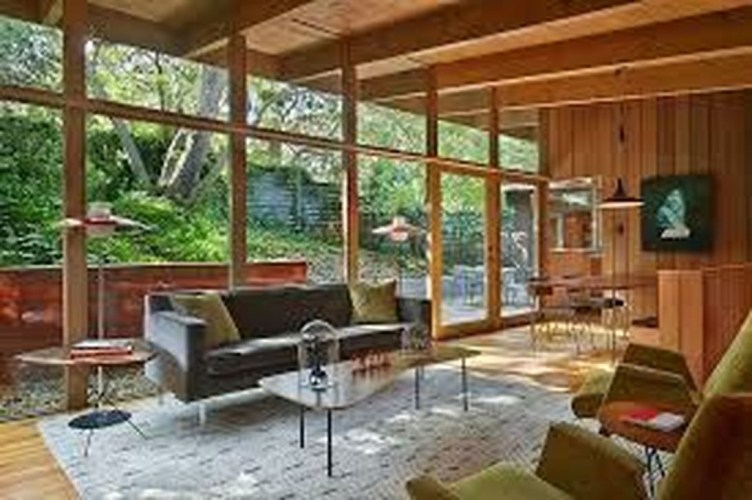 Comfortable And Modern Mid Century Living Room Design Ideas 26