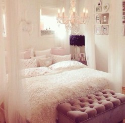 Cute And Girly Pink Bedroom Design For Your Home 13