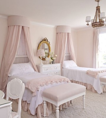 Cute And Girly Pink Bedroom Design For Your Home 24