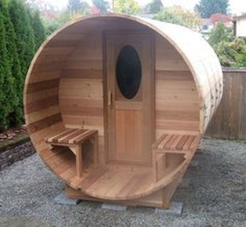 Easy And Cheap Diy Sauna Design You Can Try At Home 38