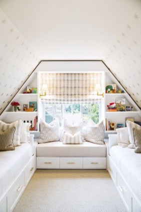 Elegant Small Attic Bedroom For Your Home 16