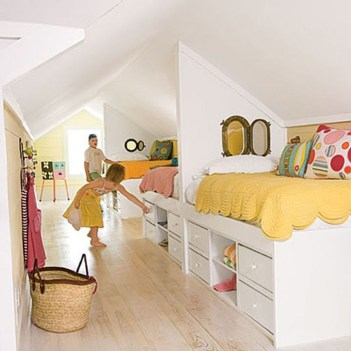 Elegant Small Attic Bedroom For Your Home 30