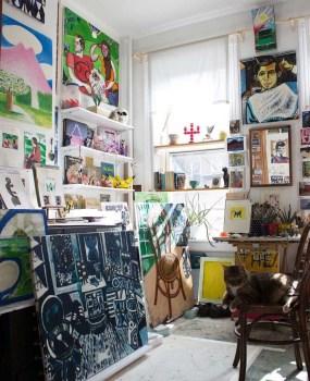 Fantastic Art Studio Apartment Design Ideas 33