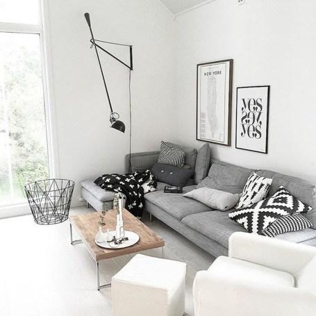 Gorgeous Scandinavian Living Room Design Ideas 14