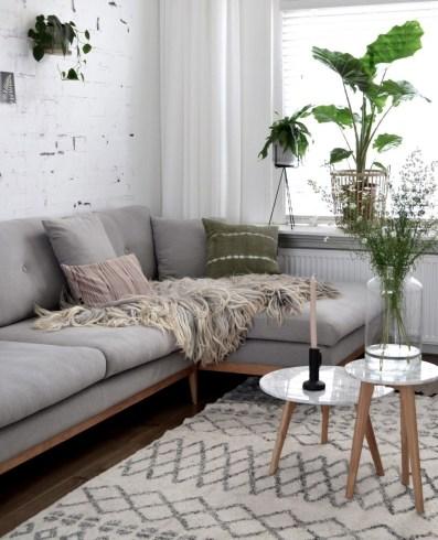 Gorgeous Scandinavian Living Room Design Ideas 16