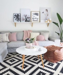Gorgeous Scandinavian Living Room Design Ideas 33
