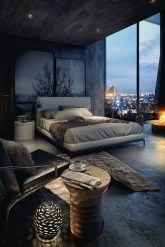 Masculine And Modern Man Bedroom Design Ideas 07