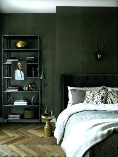Masculine And Modern Man Bedroom Design Ideas 09