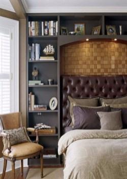 Masculine And Modern Man Bedroom Design Ideas 16