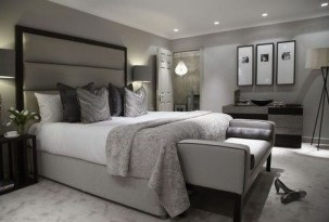 Masculine And Modern Man Bedroom Design Ideas 21