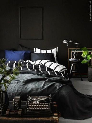 Masculine And Modern Man Bedroom Design Ideas 23