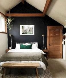 Masculine And Modern Man Bedroom Design Ideas 26