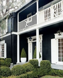 Modern Homes Decorating With Black Exteriors 05