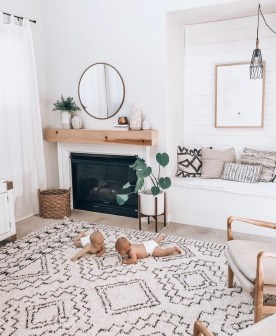 Stunning Bohemian Living Room Design Ideas 19