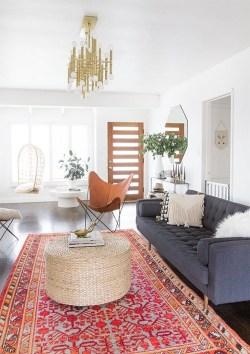 Stunning Bohemian Living Room Design Ideas 31