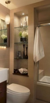 Stylish Small Master Bathroom Remodel Design Ideas 01