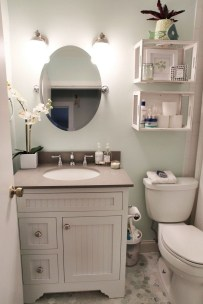 Stylish Small Master Bathroom Remodel Design Ideas 11