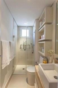Stylish Small Master Bathroom Remodel Design Ideas 12