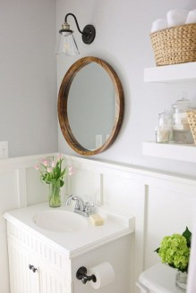 Stylish Small Master Bathroom Remodel Design Ideas 41