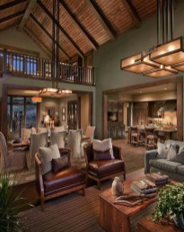 Amazing Lodge Living Room Decorating Ideas 02