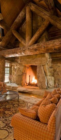Amazing Lodge Living Room Decorating Ideas 09
