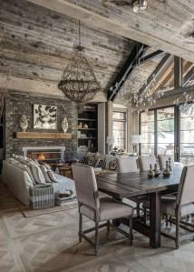 Amazing Lodge Living Room Decorating Ideas 25