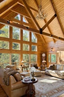 Amazing Lodge Living Room Decorating Ideas 30