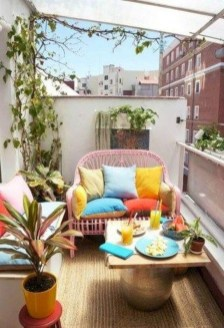 Awesome Apartment Balcony Design Ideas 11