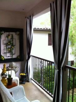 Awesome Apartment Balcony Design Ideas 17