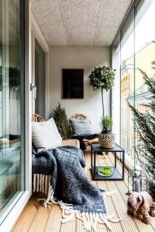 Awesome Apartment Balcony Design Ideas 18