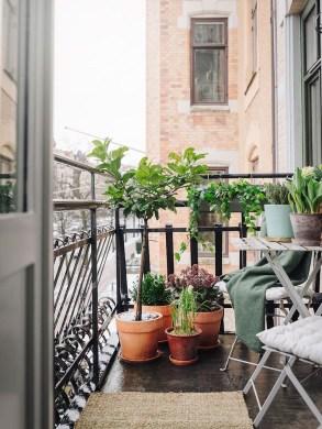 Awesome Apartment Balcony Design Ideas 26