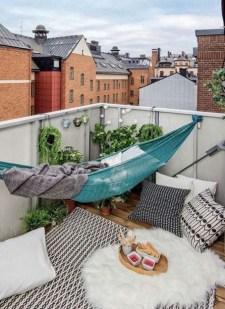 Awesome Apartment Balcony Design Ideas 37