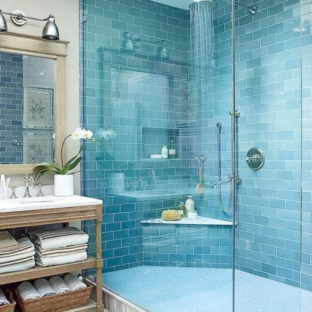 Beautiful Bathroom Decoration In A Coastal Style Decor 12