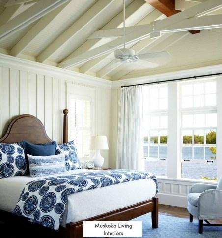 Comfortable Lake Bedroom Design Ideas 08