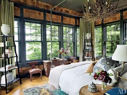 Comfortable Lake Bedroom Design Ideas 33