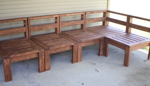Creative DIY Outdoor Furniture Ideas 27