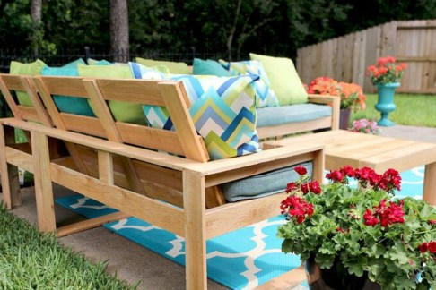 Creative DIY Outdoor Furniture Ideas 28