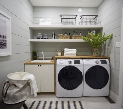 Efficient Small Laundry Room Design Ideas 06
