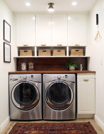 Efficient Small Laundry Room Design Ideas 09