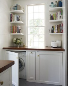 Efficient Small Laundry Room Design Ideas 10