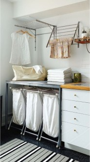 Efficient Small Laundry Room Design Ideas 22