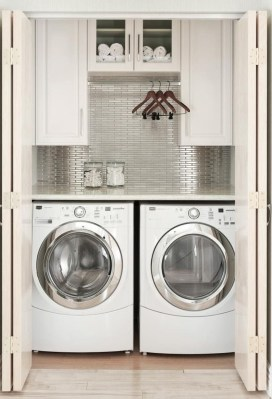 Efficient Small Laundry Room Design Ideas 23